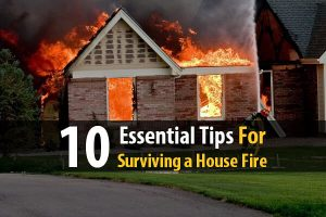 10 Essential Tips for Surviving a House Fire