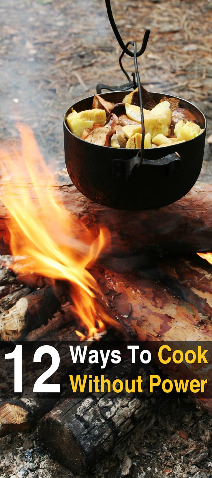 12 Ways To Cook Without Power