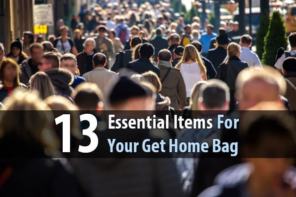 13 Essential Items For Your Get Home Bag
