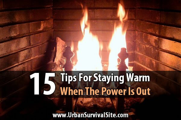 15 Tips For Staying Warm When The Power Is Out