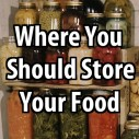 Where You Should Store Your Food