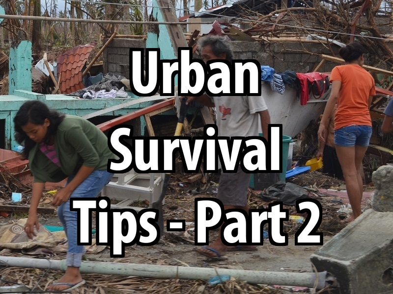 Urban survival day 3