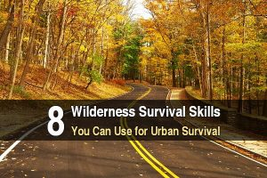 8 Wilderness Survival Skills You Can Use For Urban Survival