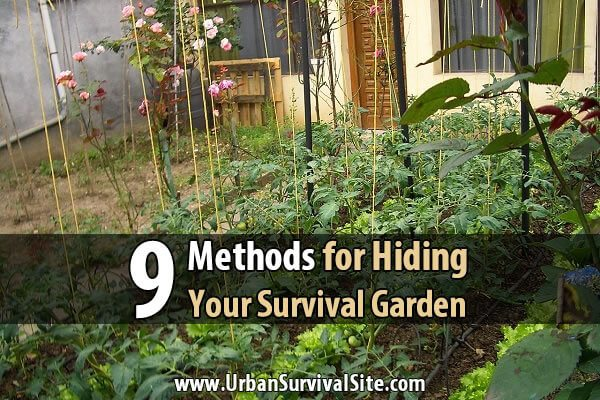 9 Methods for Hiding Your Survival Garden