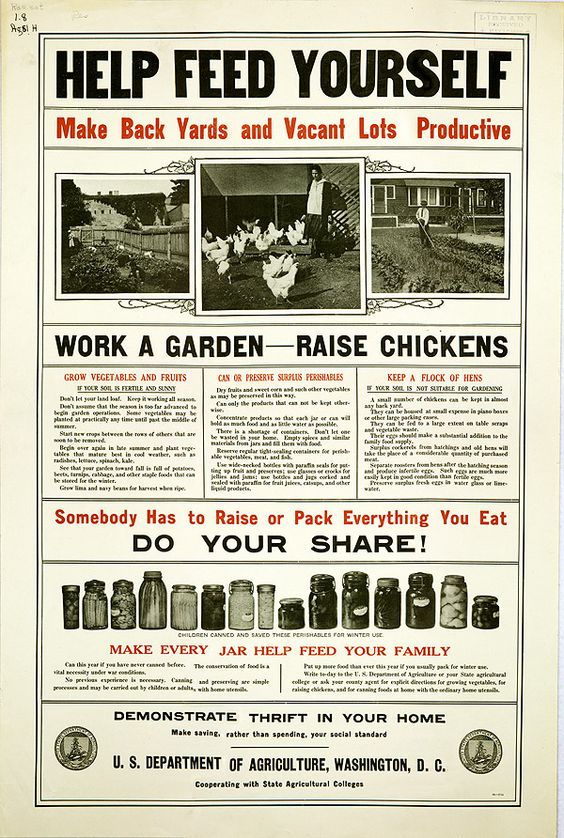 Department of Agriculture poster