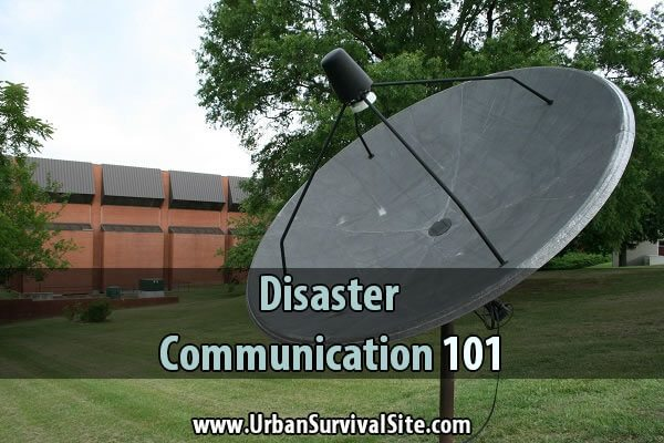 Disaster Communication 101