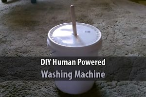 DIY Human Powered Washing Machine