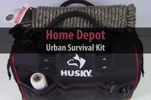 Home Depot Urban Survival Kit