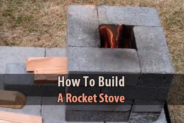 How To Build A Rocket Stove Urban Survival Site