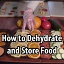 How to Dehydrate and Store Food