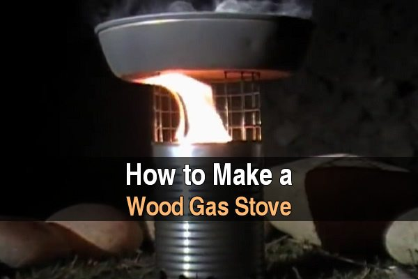 How to make a wood gas stove urban survival site for How to make a stove