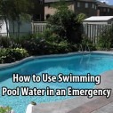 How to Use Swimming Pool Water in an Emergency