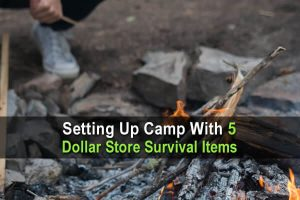 Setting Up Camp With Just 5 Dollar Store Survival Items