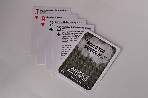 Pocket Survival Playing Cards