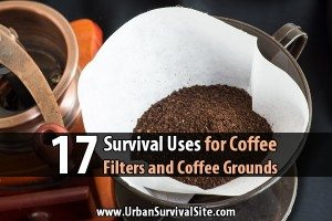 17 Survival Uses for Coffee Filters and Coffee Grounds