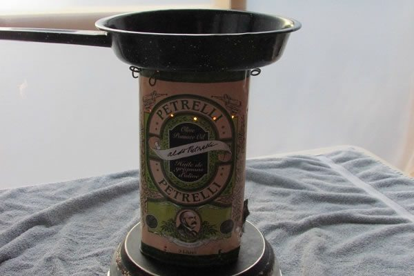 Tin Can Stove step six