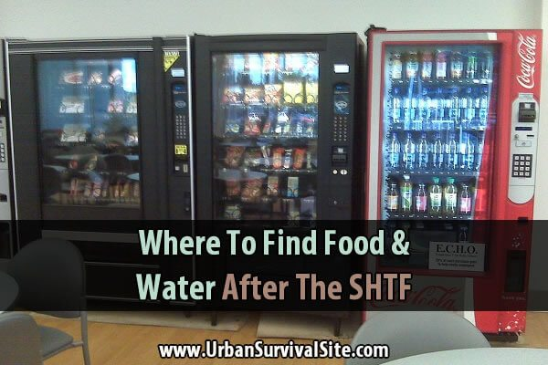 Where to Find Food and Water After The SHTF