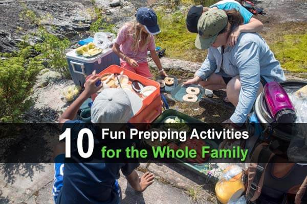 10 Fun Prepping Activities for the Whole Family