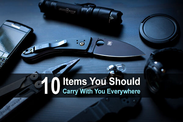 10 Items You Should Carry With You Everywhere
