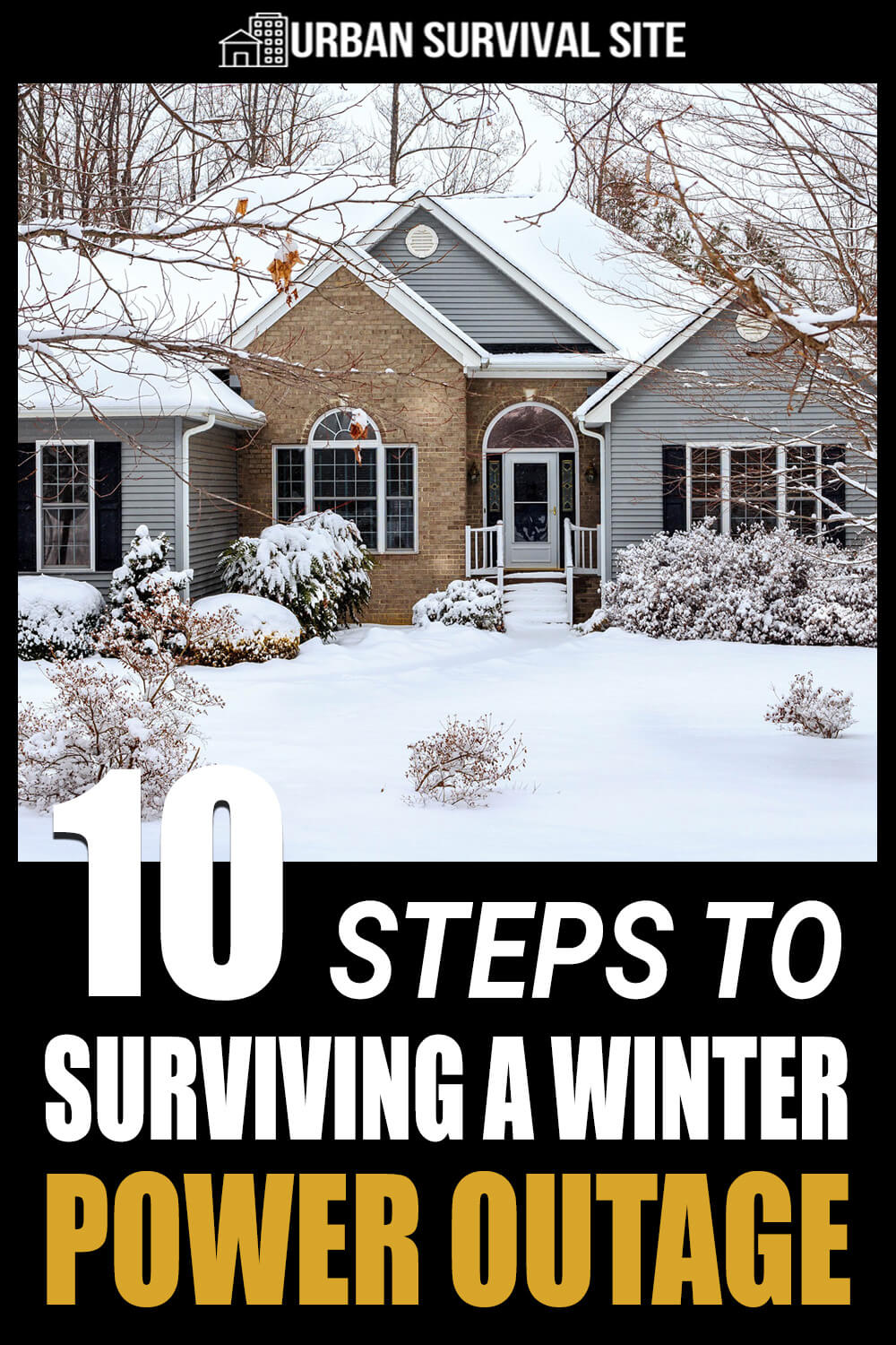 10 Steps To Surviving A Winter Power Outage
