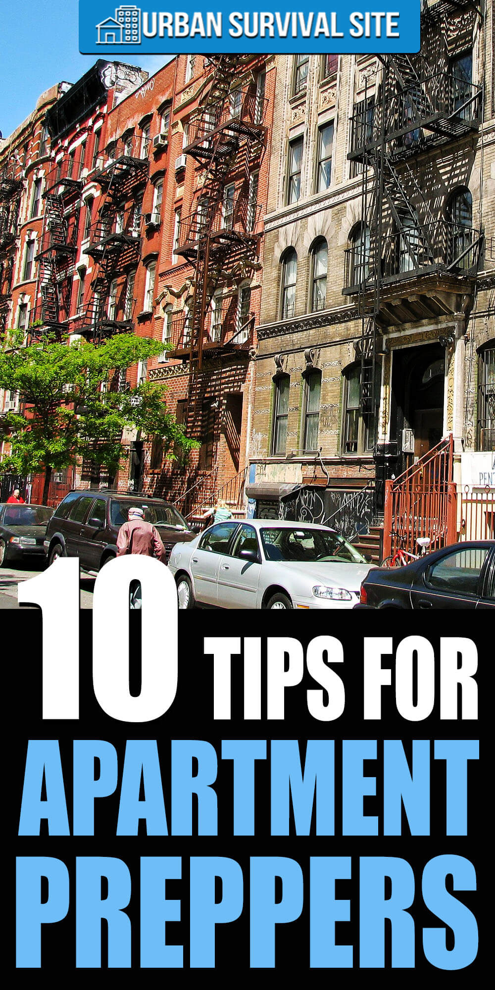 10 Tips for Apartment Preppers