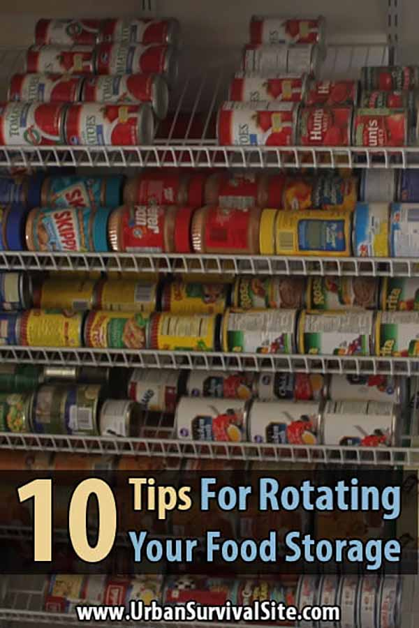 10 Tips For Rotating Your Food Storage ... & 10 Tips For Rotating Your Food Storage | Urban Survival Site