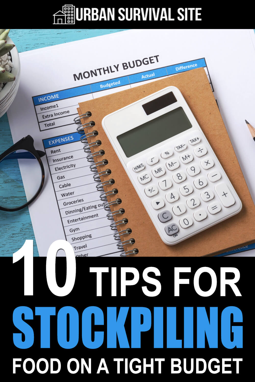 10 Tips For Stockpiling Food On A Tight Budget