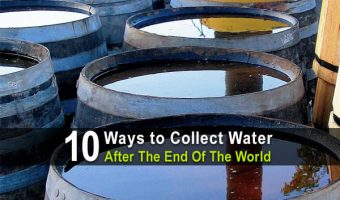 10 Ways To Collect Water After The End Of The World