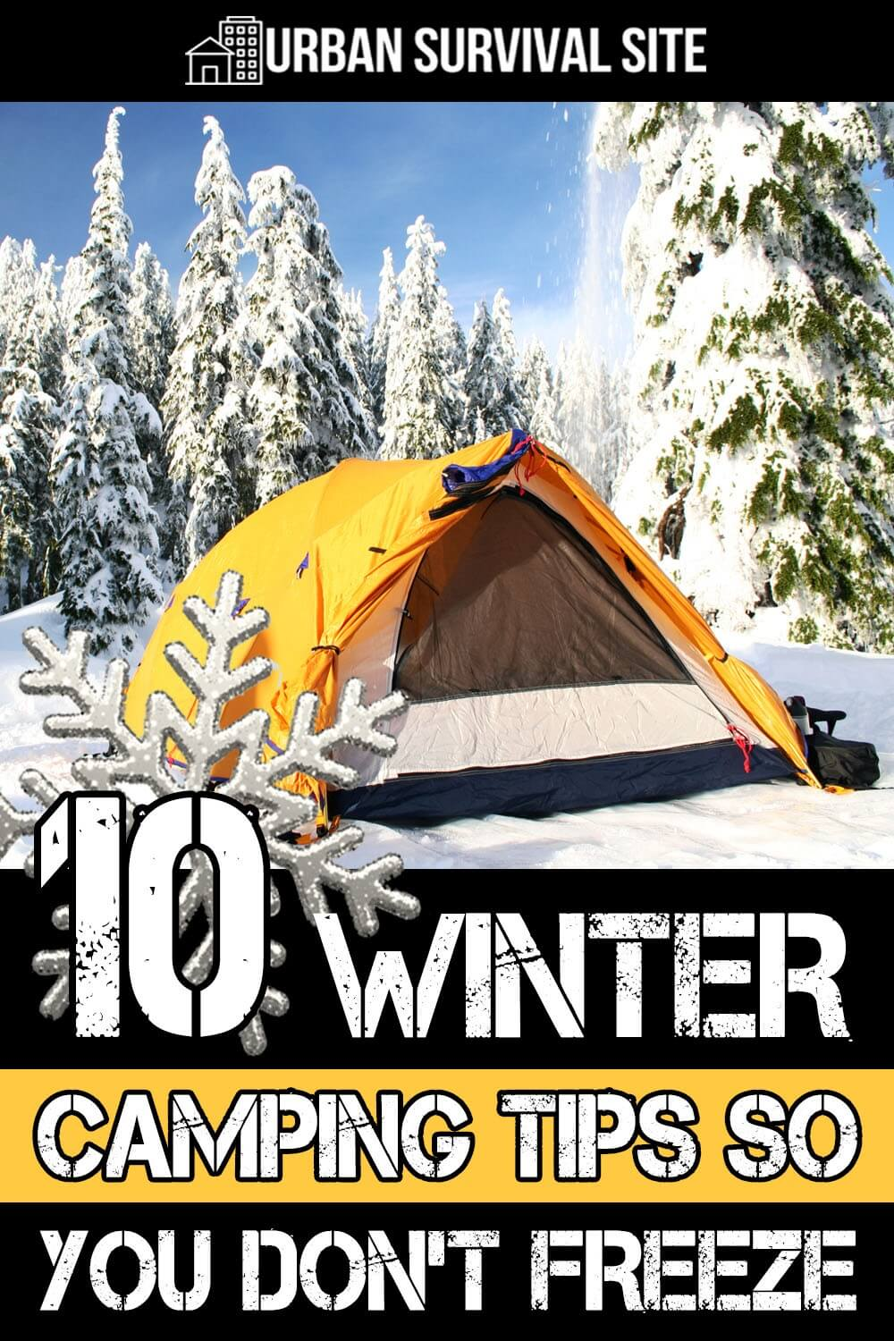 10 Winter Camping Tips So You Don't Freeze