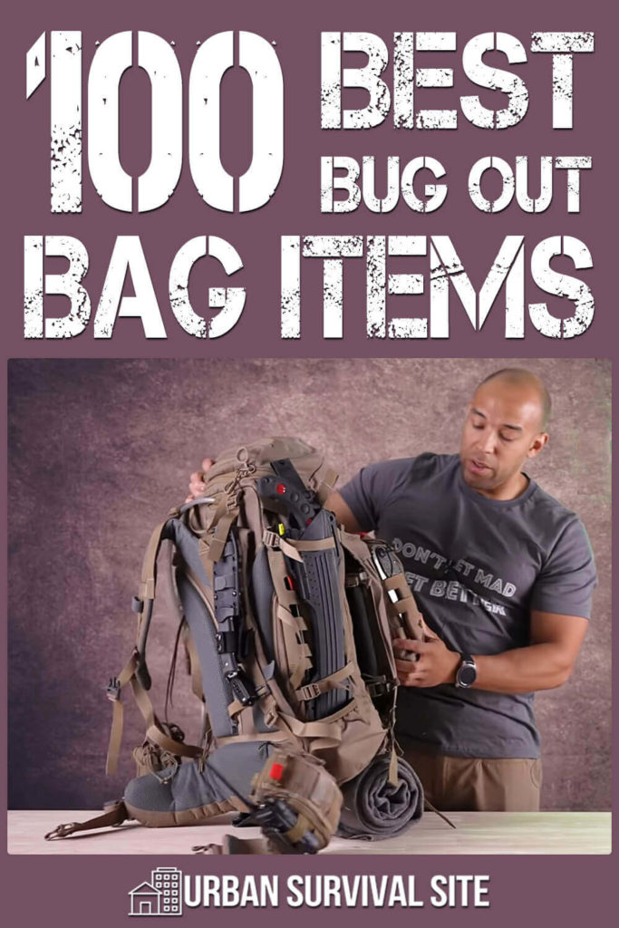 100 Best Bug Out Bag Items