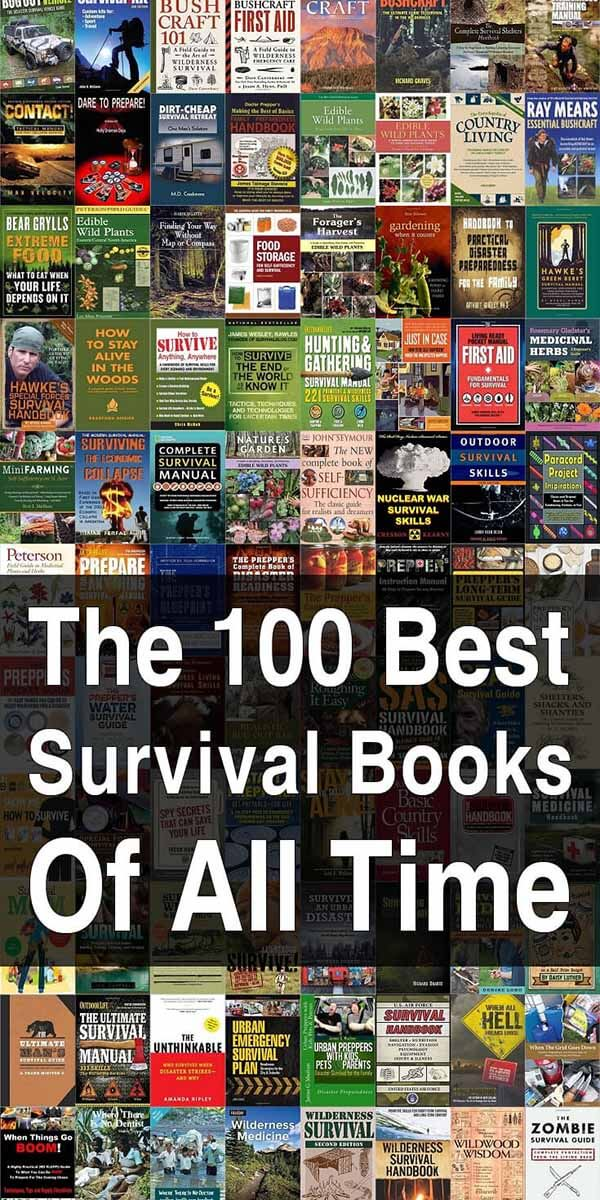 100 Best Survival Books of All Time