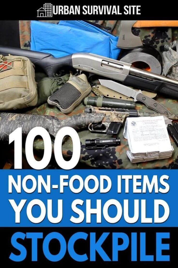 100 Non-Food Items You Should Stockpile