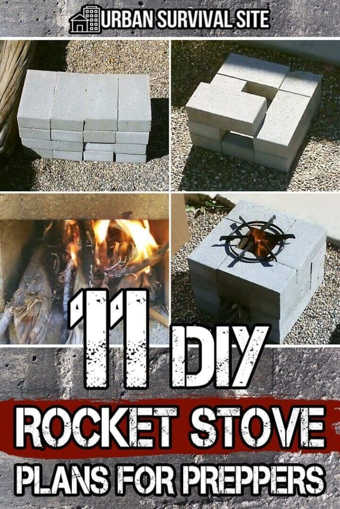 11 DIY Rocket Stove Plans for Preppers