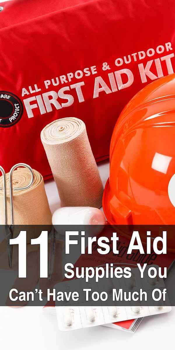 11 First Aid Supplies You Can't Have Too Much Of