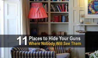 11 Places to Hide Your Guns Where Nobody Will See Them