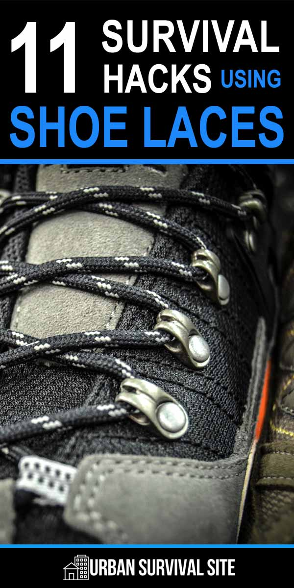 11 Survival Hacks Using Shoe Laces