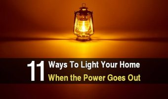 11 Ways To Light Your Home When The Power Goes Out