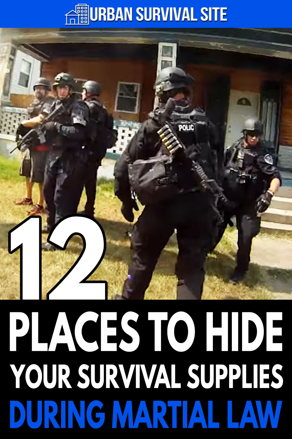 12 Places To Hide Your Survival Supplies During Martial Law