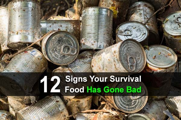 12 Signs Your Survival Food Has Gone Bad