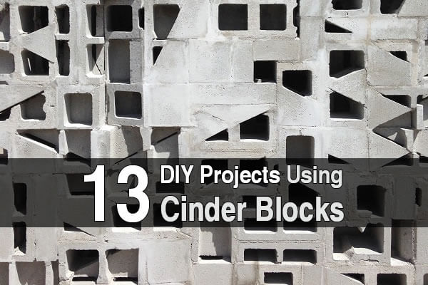 13 DIY Projects Using Cinder Blocks