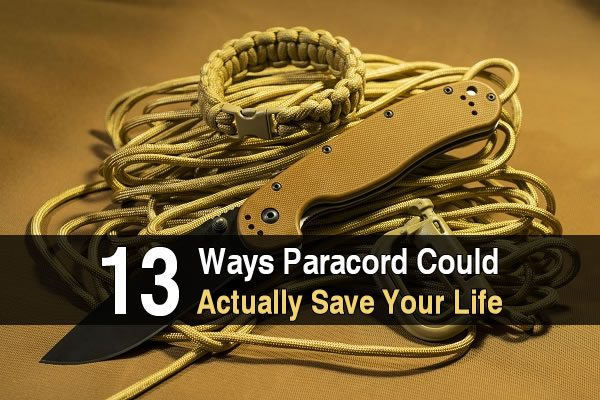 13 Ways Paracord Could Actually Save Your Life