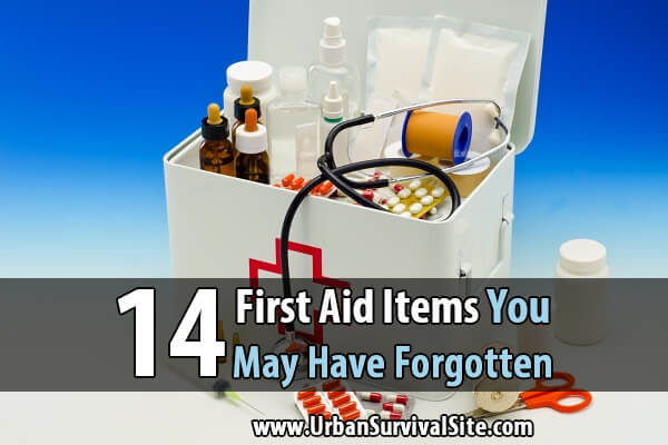 14 First Aid Items You May Have Forgotten
