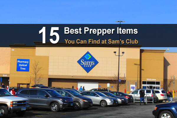 15 Best Prepper Items You Can Find At Sam's Club
