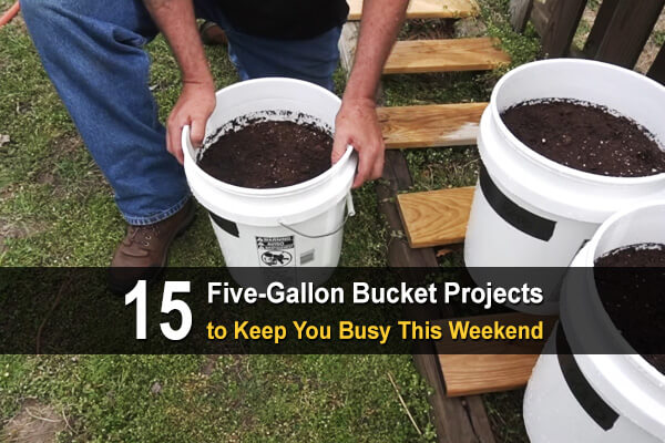 15 Five-Gallon Bucket Projects to Keep You Busy This Weekend