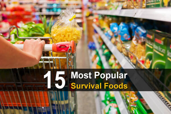 15 Most Popular Survival Foods
