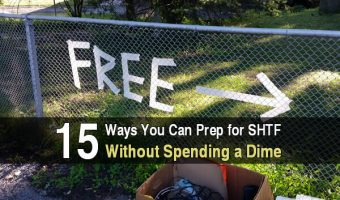 15 Ways You Can Prep for SHTF Without Spending a Dime