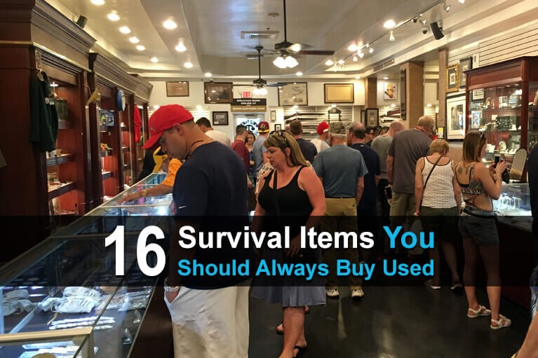 16 Survival Items You Should Always Buy Used