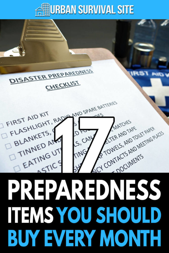 17 Preparedness Items You Should Buy Every Month