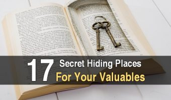 17 Secret Hiding Places For Your Valuables
