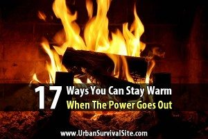 17 Ways You Can Stay Warm When The Power Goes Out